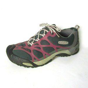 KEEN Shellback 8M 8 Low Hiking Shoes Gray Purple